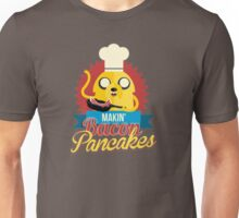 Jake The Dog Making Bacon Pancakes Unisex T-Shirt