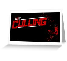 The Culling Black Greeting Card
