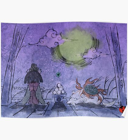 Purple Mist Poster