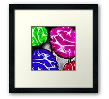 PARTY BRAIN - PART TWO Framed Print