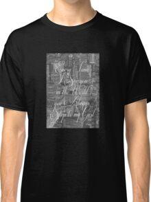 Step Lyrics Classic T-Shirt