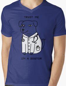 Dogtor Mens V-Neck T-Shirt