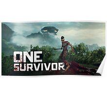 One Survivor Poster