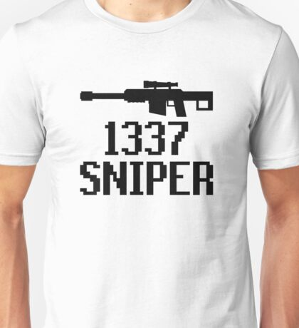 1337 Sniper (Elite) Unisex T-Shirt