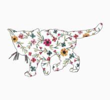 Floral Kitten by JessDesignsxx