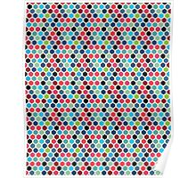 Multi-Color Geometric Pattern Poster