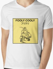 FLCL - Vespa Mens V-Neck T-Shirt
