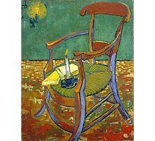 1888-Vincent van Gogh-Gauguin's chair-72,5x90,3 Photographic Print