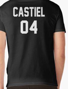 Supernatural Jersey (Castiel Novak) Mens V-Neck T-Shirt