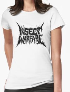 Insect Warfare Womens Fitted T-Shirt