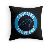 Carolina Panthers Club Throw Pillow