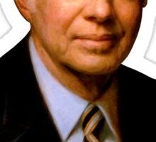 President Jimmy Carter Painting Sticker