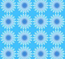 Mystical Snow Cloud Mandala Wallpaper Sticker