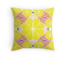 Sliced Fruit Throw Pillow