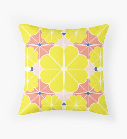 Sliced Fruit Throw Pillow