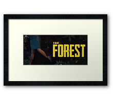 The Forest Game Framed Print