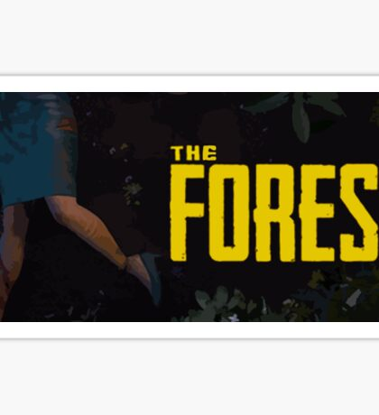 The Forest Game Sticker