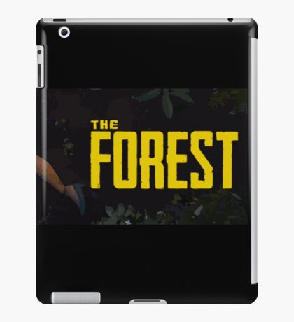 The Forest Game iPad Case/Skin
