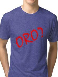 Rurouni Kenshin Oro? Red Tri-blend T-Shirt