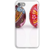 Hand Painted Easter Eggs iPhone Case/Skin
