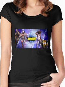 Borderlands The Pre-Sequel Women's Fitted Scoop T-Shirt