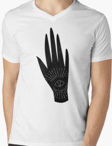 Divine Right Mens V-Neck T-Shirt