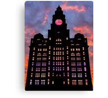 Royal Liver Building Canvas Print