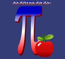 As American As Apple Pi Womens Fitted T-Shirt