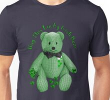 Hug This Lucky Irish Bear ♣ Unisex T-Shirt