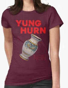Yung Hurn (Nein) Womens Fitted T-Shirt