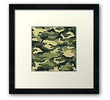 KA Camouflage 1 Framed Print