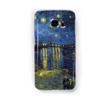 1888-Vincent van Gogh-Starry Night-72x92 Samsung Galaxy Case/Skin