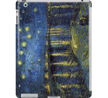 1888-Vincent van Gogh-Starry Night-72x92 iPad Case/Skin
