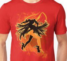 Super Smash Bros. Orange Bayonetta (Default) Silhouette Unisex T-Shirt