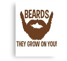 beards Canvas Print