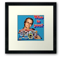Who is you? Armada SSBM Guess who Framed Print