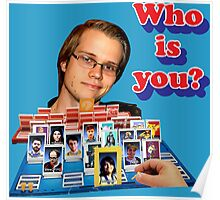 Who is you? Armada SSBM Guess who Poster