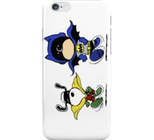 Batman and Robin Peanuts iPhone Case/Skin