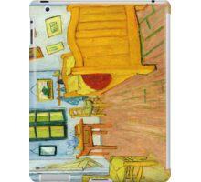 1888-Vincent van Gogh-The Bedroom-72x90 iPad Case/Skin