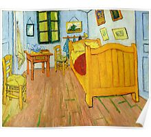 1888-Vincent van Gogh-The Bedroom-72x90 Poster