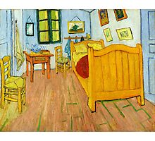 1888-Vincent van Gogh-The Bedroom-72x90 Photographic Print