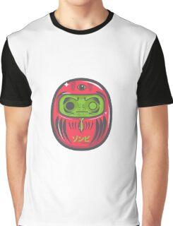 Daruma Doll Zombie Graphic T-Shirt