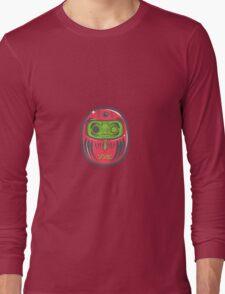 Daruma Doll Zombie Long Sleeve T-Shirt