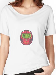 Daruma Doll Zombie Women's Relaxed Fit T-Shirt