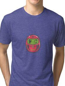 Daruma Doll Zombie Tri-blend T-Shirt