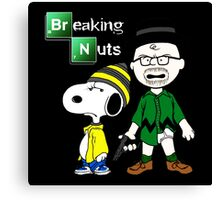 Breaking Nuts Canvas Print