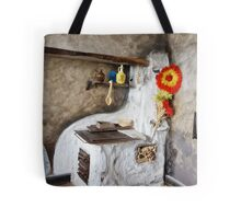 Old kitchen in a cottage  Tote Bag