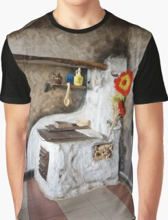 Old kitchen in a cottage  Graphic T-Shirt