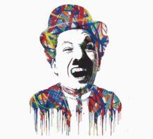 Charlie Chaplin - Mr. Brainwash One Piece - Short Sleeve