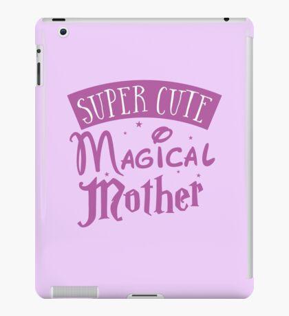 Super cute Magical mother iPad Case/Skin